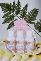 handmade lotion sampler from Hawaii